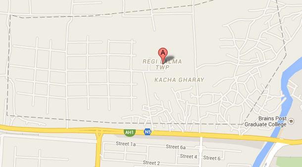 DHA Peshawar Location