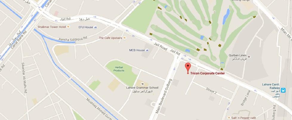 Tricon Corporate Centre  location